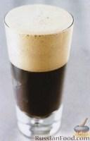Фото к рецепту: Коктейль «Черный бархат»