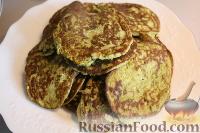 Фото к рецепту: Оладушки из брокколи