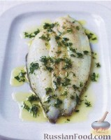 Фото к рецепту: Морской язык со свежей зеленью