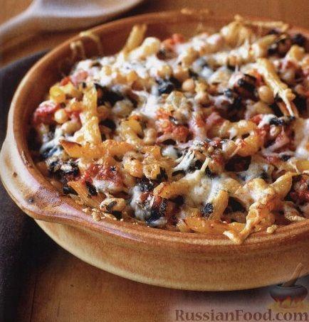 Рецепт Макароны, запеченные с овощами и сыром