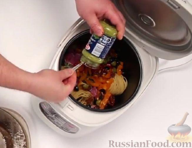 Фото приготовления рецепта: Суп харчо из свинины - шаг №8
