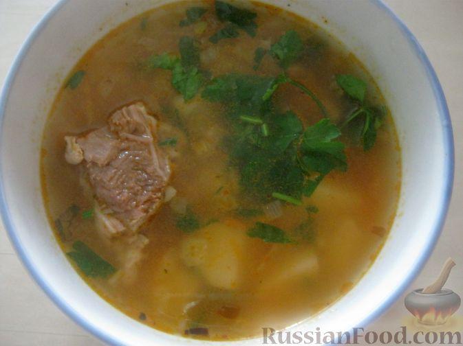 суп из мяса и картошки рецепты с фото