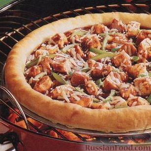 Рецепт Пицца на гриле