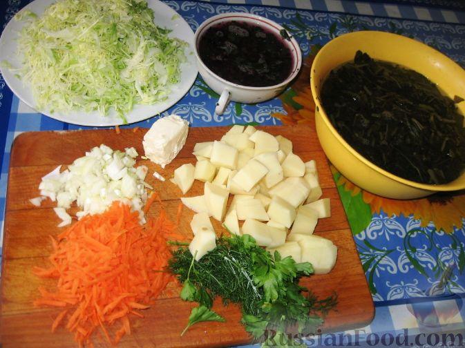 рецепт приготовления борща с капустой