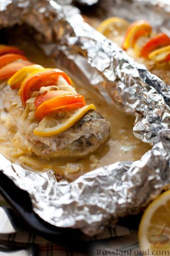 филе судака в духовке в фольге рецепты с фото