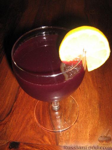 Рецепт Винный напиток с фруктами
