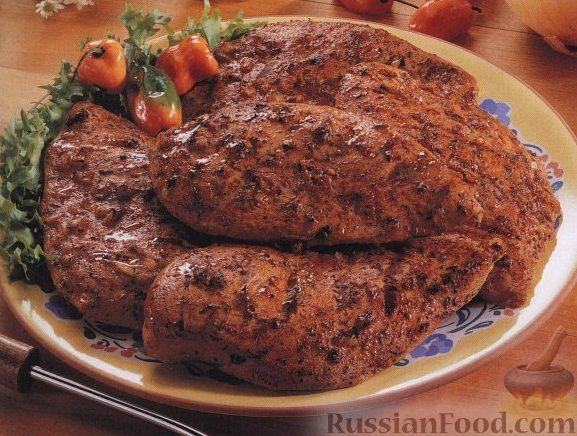 Рецепт Куриное филе на гриле
