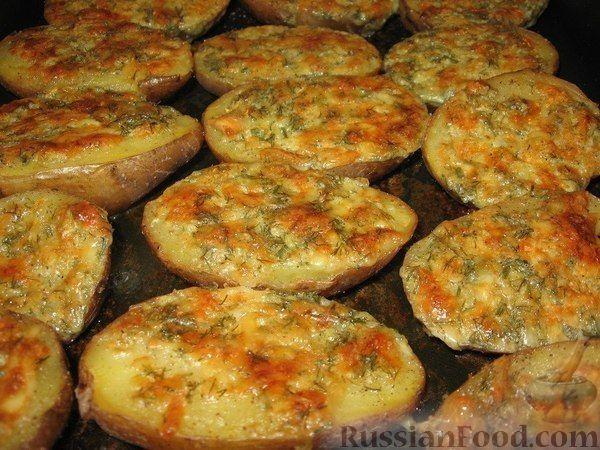 Рецепт Чесночный картофель