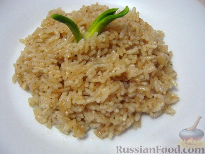 Рецепт Жареный рис на гарнир
