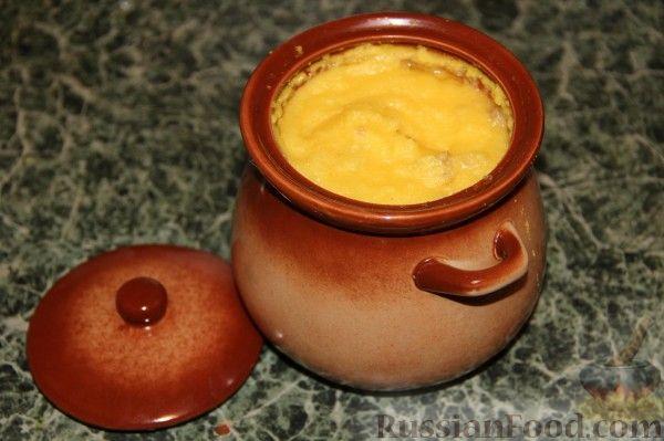 Рецепт Мамалыга в горшочке