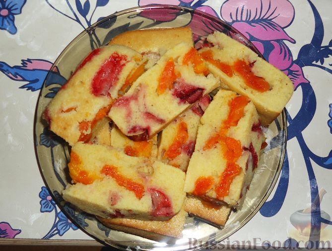 Рецепт Фруктовый пирог (манник)