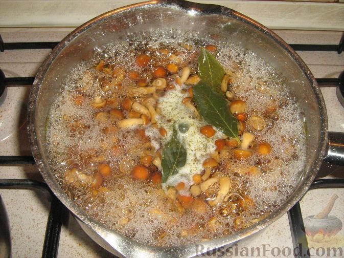 опята замороженные рецепты приготовления маринования