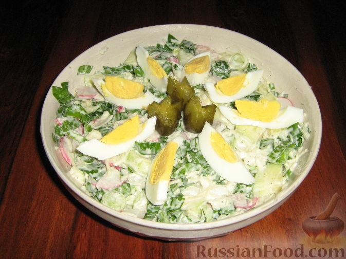 Блюда с черемшой маринованной