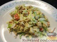 Фото к рецепту: Салат из индейки