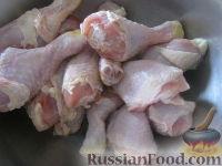 Фото приготовления рецепта: Куриное мясо, запечeнное в маринаде - шаг №2