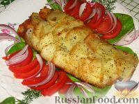 Фото к рецепту: Рыба в картофельной чешуе