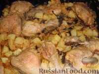 Фото приготовления рецепта: Курочка, как на шашлыки - шаг №9