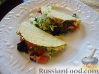 Фото к рецепту: Мексиканские тако (taco)