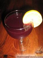 Фото к рецепту: Винный напиток с фруктами
