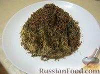 """Фото к рецепту: Торт """"Муравейник"""" из печенья"""