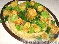 Фото к рецепту: Картофельный торт с мясным фаршем