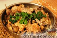 Фото к рецепту: Кролик тушеный по-эльзасски