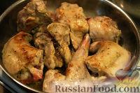 Фото приготовления рецепта: Кролик тушеный по-эльзасски - шаг №3