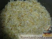 Фото приготовления рецепта: Жареный рис на гарнир - шаг №4