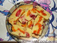 Фото к рецепту: Фруктовый пирог (манник)