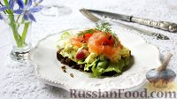 Фото к рецепту: Бутерброд с сёмгой и яичным салатом