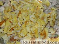 """Фото приготовления рецепта: Простой салат с курицей """"Квочка"""" - шаг №6"""