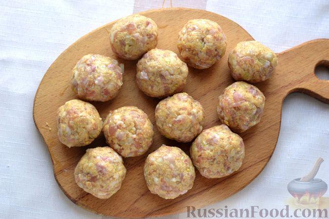 Фото приготовления рецепта: Жареная картошка с говяжьей печенью - шаг №17