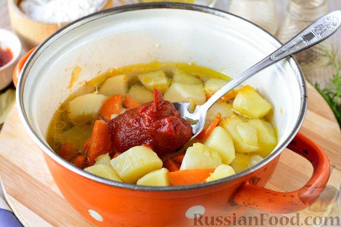 Фото приготовления рецепта: Творожные багеты - шаг №5