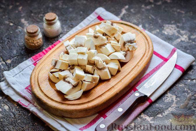 Фото приготовления рецепта: Десерт из манной крупы с имбирём и лимоном - шаг №3