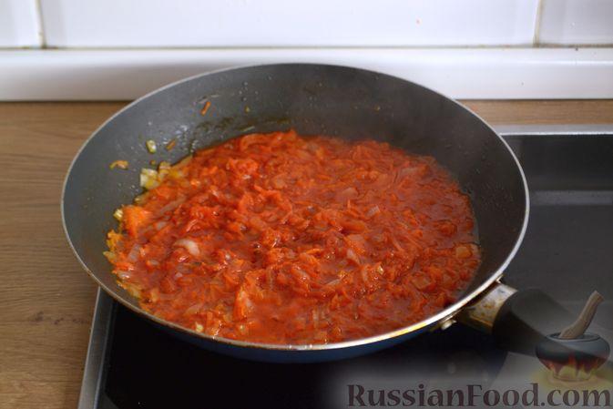 Фото приготовления рецепта: Тыквенный манник - шаг №12