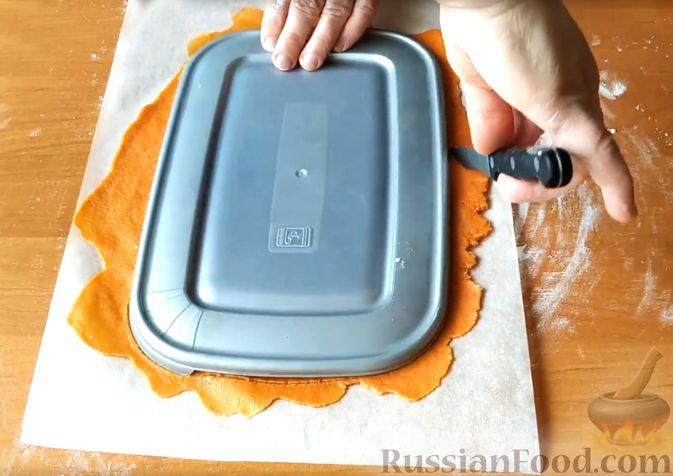 Фото приготовления рецепта: Шампиньоны, жаренные с яблоками - шаг №8