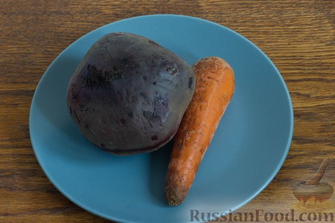 Фото приготовления рецепта: Шоколадный брауни с вишней (постный) - шаг №2