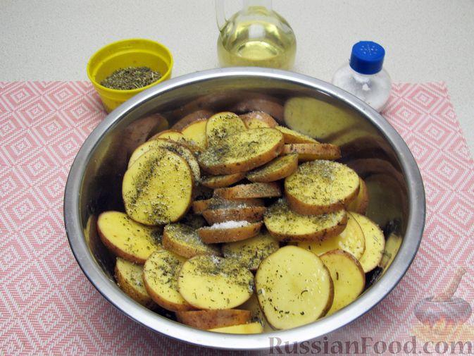 Фото приготовления рецепта: Булочки из цельнозерновой муки - шаг №11