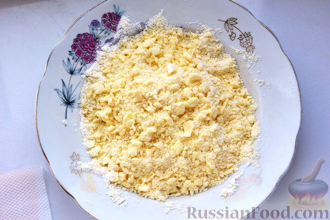 Фото приготовления рецепта: Запеканка из пекинской капусты с сыром - шаг №16