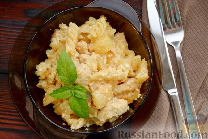 Фото приготовления рецепта: Скумбрия, запечённая с морковью и луком (в рукаве) - шаг №7