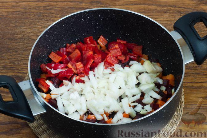 Фото приготовления рецепта: Рулетики из индейки с грибами, яйцами и сыром, запечённые в сметане - шаг №16