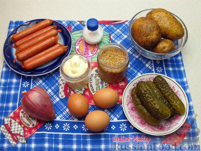 Фото приготовления рецепта: Картошка, тушенная с квашеной капустой - шаг №6