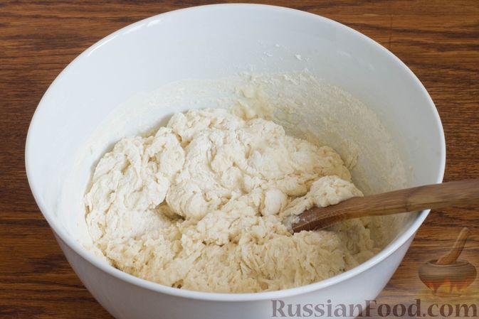 Фото приготовления рецепта: Овсяные батончики с сухофруктами, цукатами и орехами - шаг №5