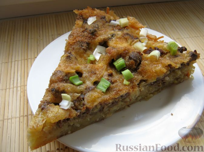 Рецепт Запеканка из макарон, сыра и куриной печени