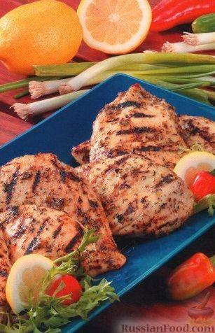 Рецепт Куриное филе на гриле по-карибски