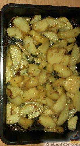 Рецепт Картофель, запечённый с чесноком