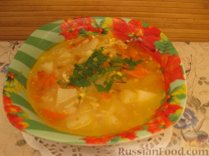 Рецепт Суп рисовый с яйцом