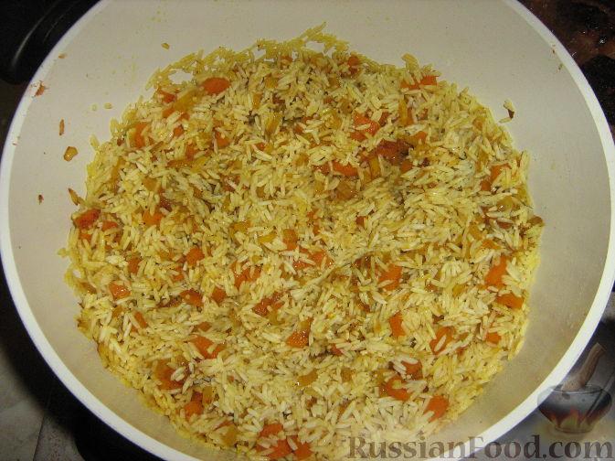 Рецепт блюд с рисом басмати