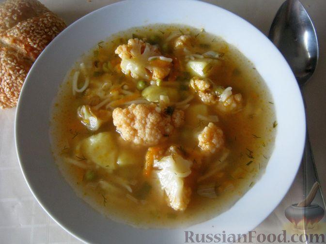 Рецепт вкусного супа из брокколи и цветной капусты