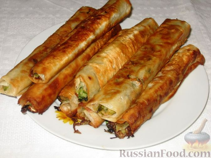 Рецепт Молдавские вертуты с капустой из лаваша